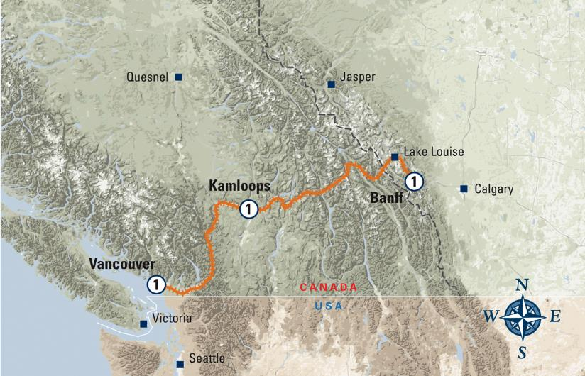 Rocky Mountaineer Routes First Passage To The West