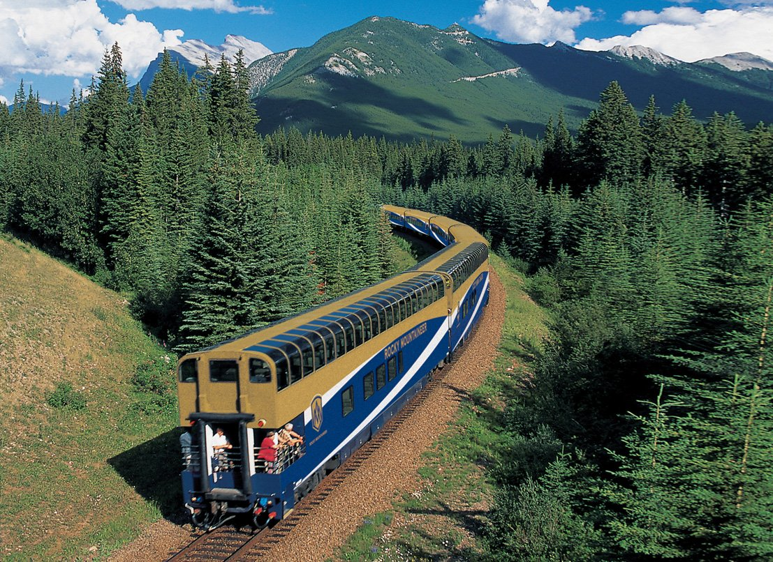 canada rocky mountaineer canadian rockies rail journey vancouver calgary