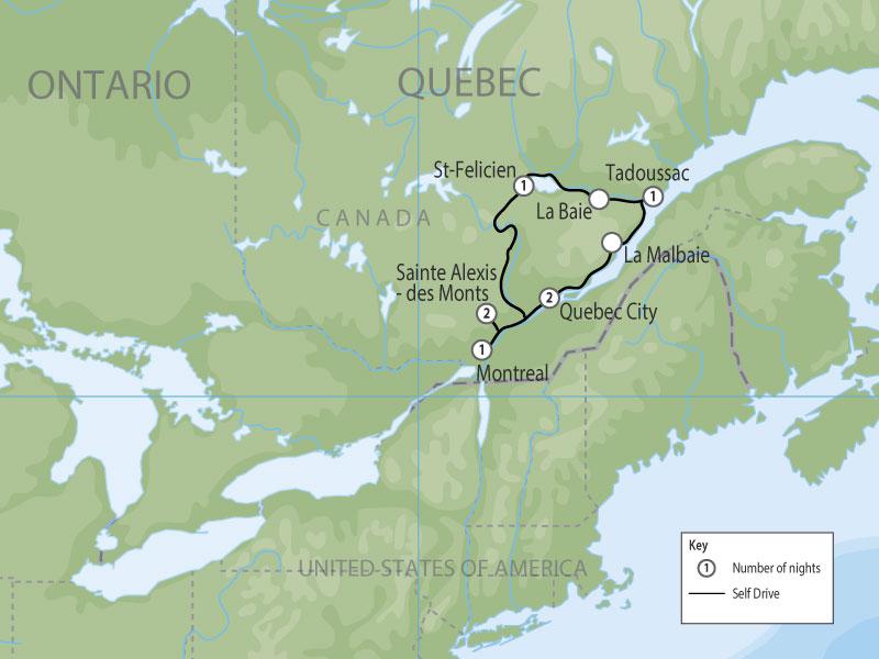 Quebec Its WildlifeCanada Self Drive Holiday 2017